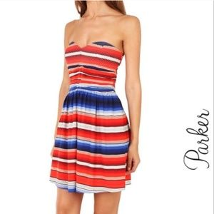 Parker sante Fe Melrose dress sz S